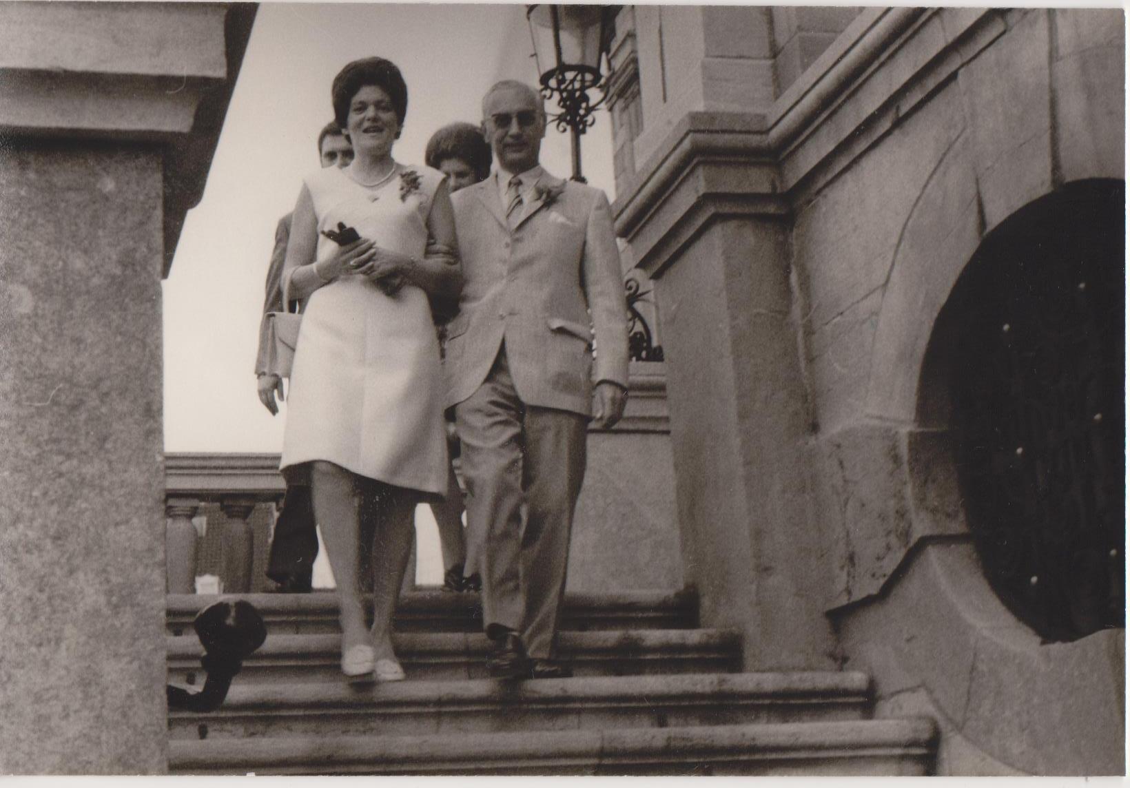 Huwelijk 1971 Leendert HW Keijzer (1912-1990) & Anna H Bus (1927-2013)