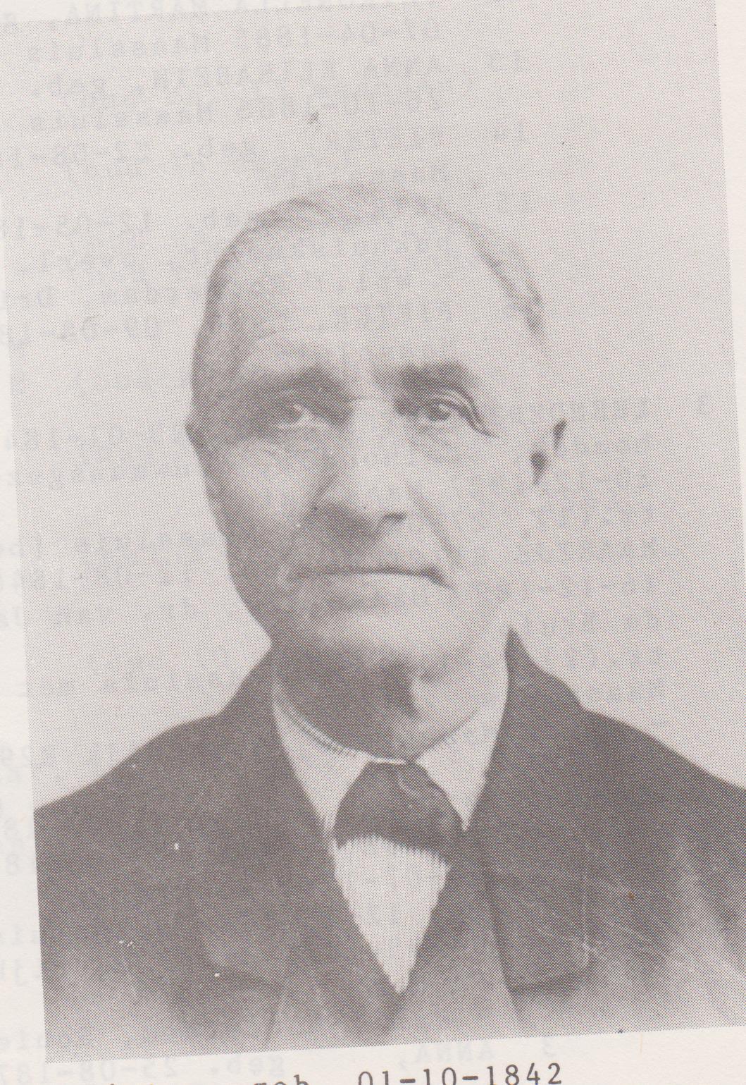 Pieter Buitelaar 01-10-1842