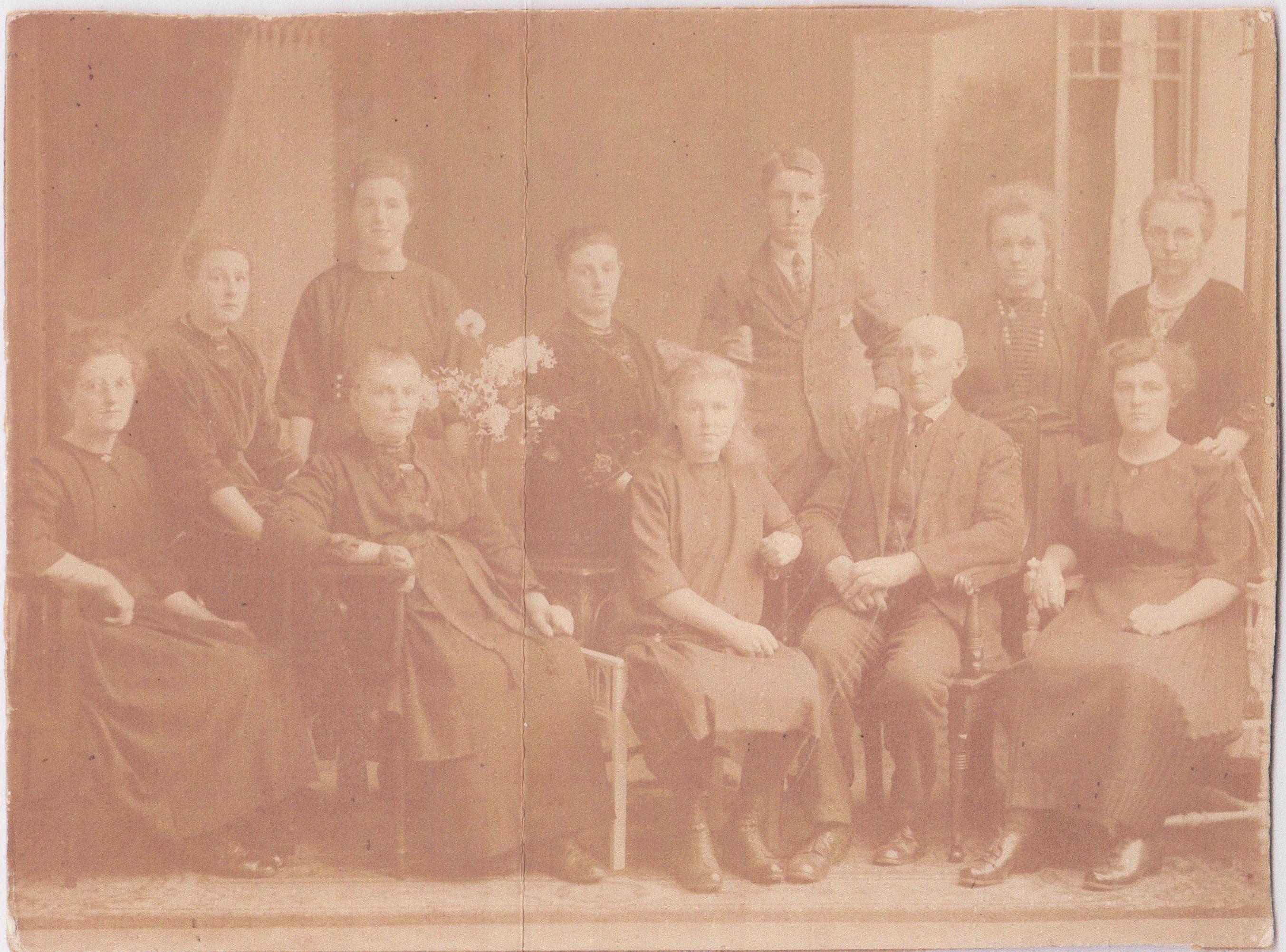 Roelof Buitelaar-Joh.Beekenkamp Gezin -1919