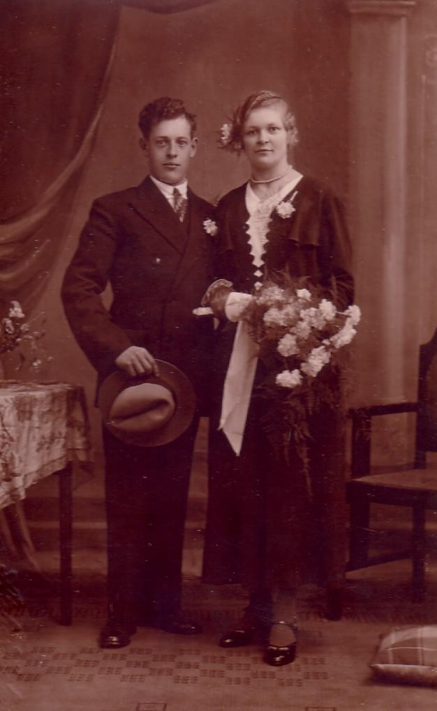 Huwelijk Antje Herbert en Wouter Pellikaan (1935)