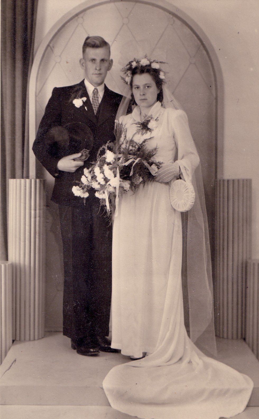 Huwelijk Arij M. Keijzer en Clazina M. Snoey (1947)