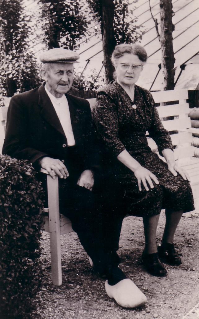 Arie Herbert (1885-1967) en Willempje Boon(1895-1965)