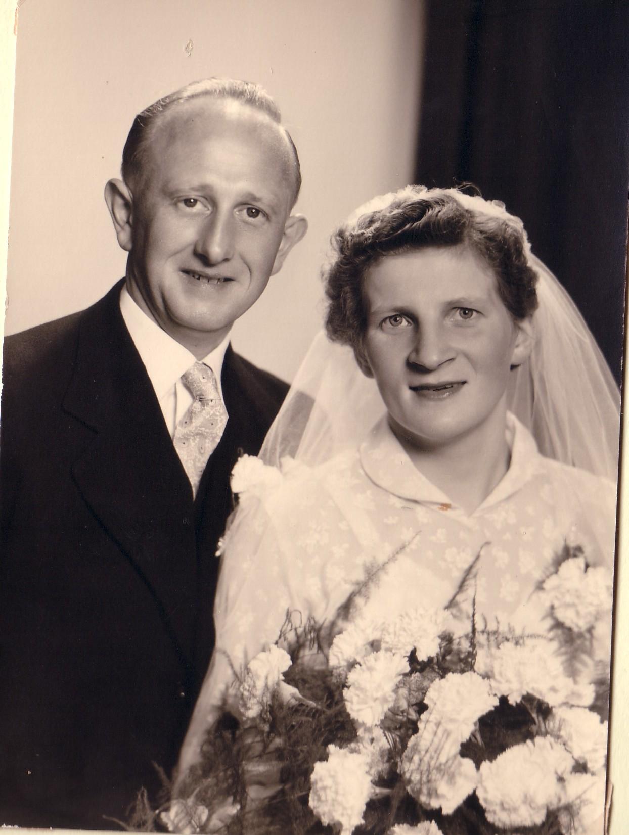Huwelijk Jacob Boekestijn en Cornelia Keijzer (1956)