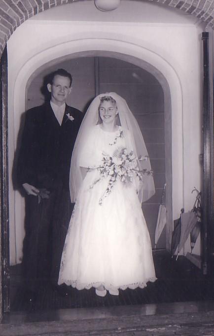 Huwelijk Joost Herbert en Johanna van Nieuwkerk (1962)