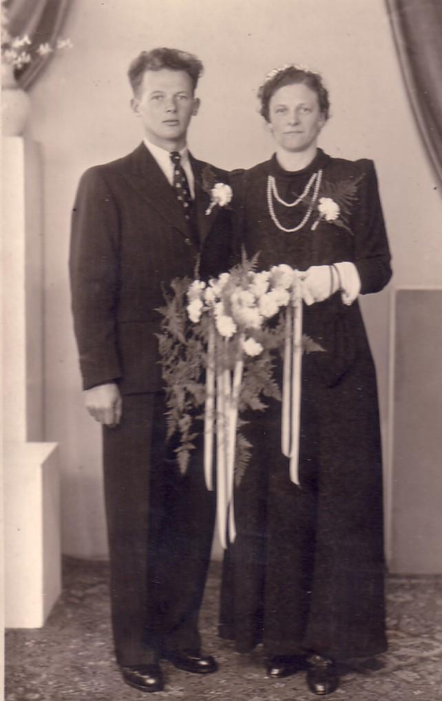 Huwelijk Laurina Herbert en Pieter Schellingerhout (1942)