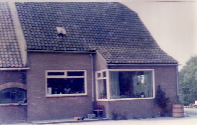 Boerderij Burgerdijkseweg De Lier na 1965