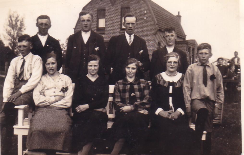 gezin Arie en Antje Herbert