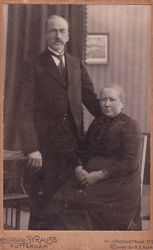 Christiaan Romein (1857-1929) en Elisabeth Zuiderent (1857-1933)