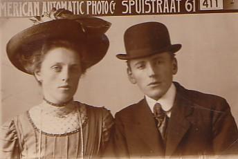 Cornelis Romein (1888-1918) en Jannetje Scheffers (1890- ??)