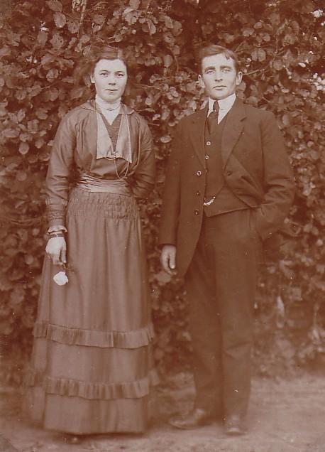 Pieter Romein (1890-1969) en Elisabeth Boers (1890-1968)