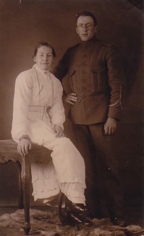 Teunis Romein (1891-1949) en Jannetje Noordam (1889-1959)