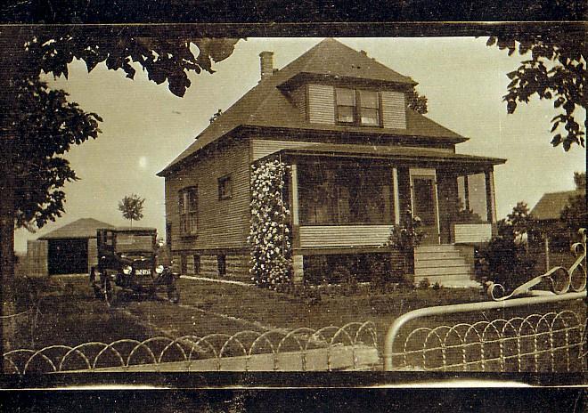 Woonhuis van Teunis Romein en Sijgie de Haan in Amerika
