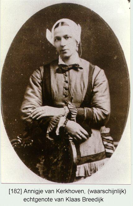 Annigje Kerkhoven 1842-1886