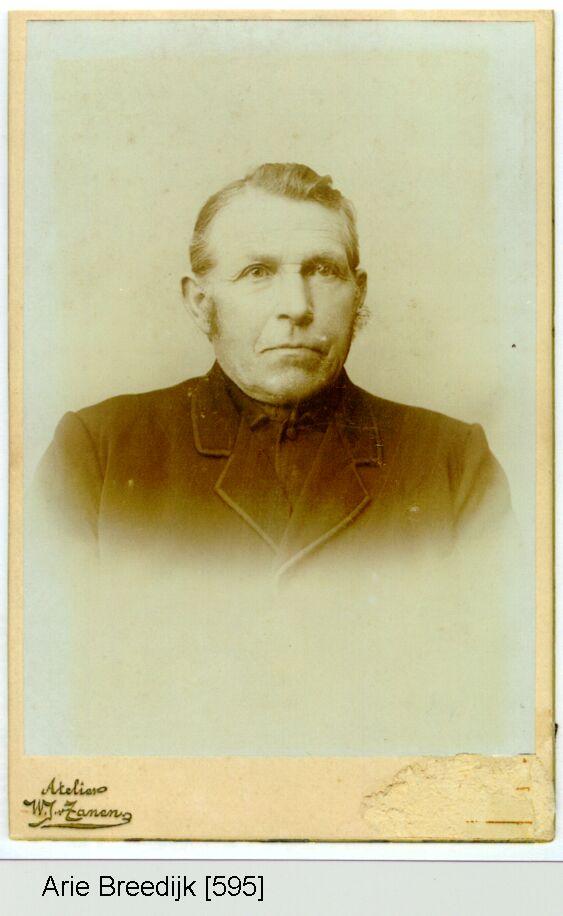 Arie Breedijk 1841-1919