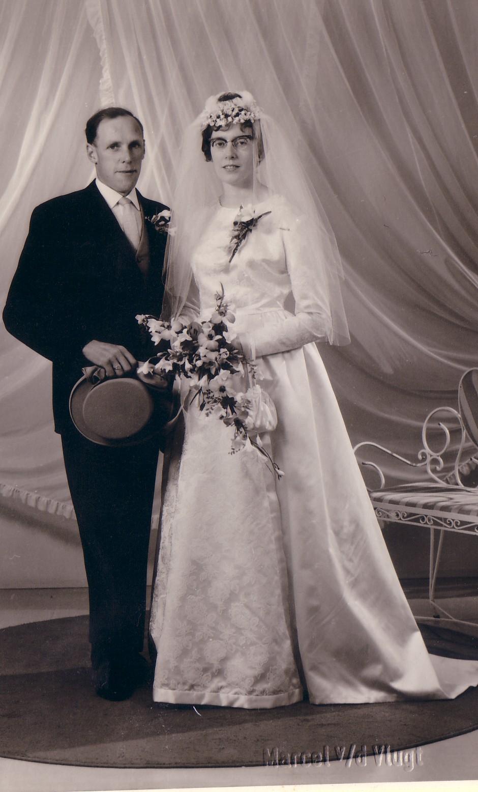 Huwelijk Christiaan van Eijmeren en Maria Phernambucq (1963)