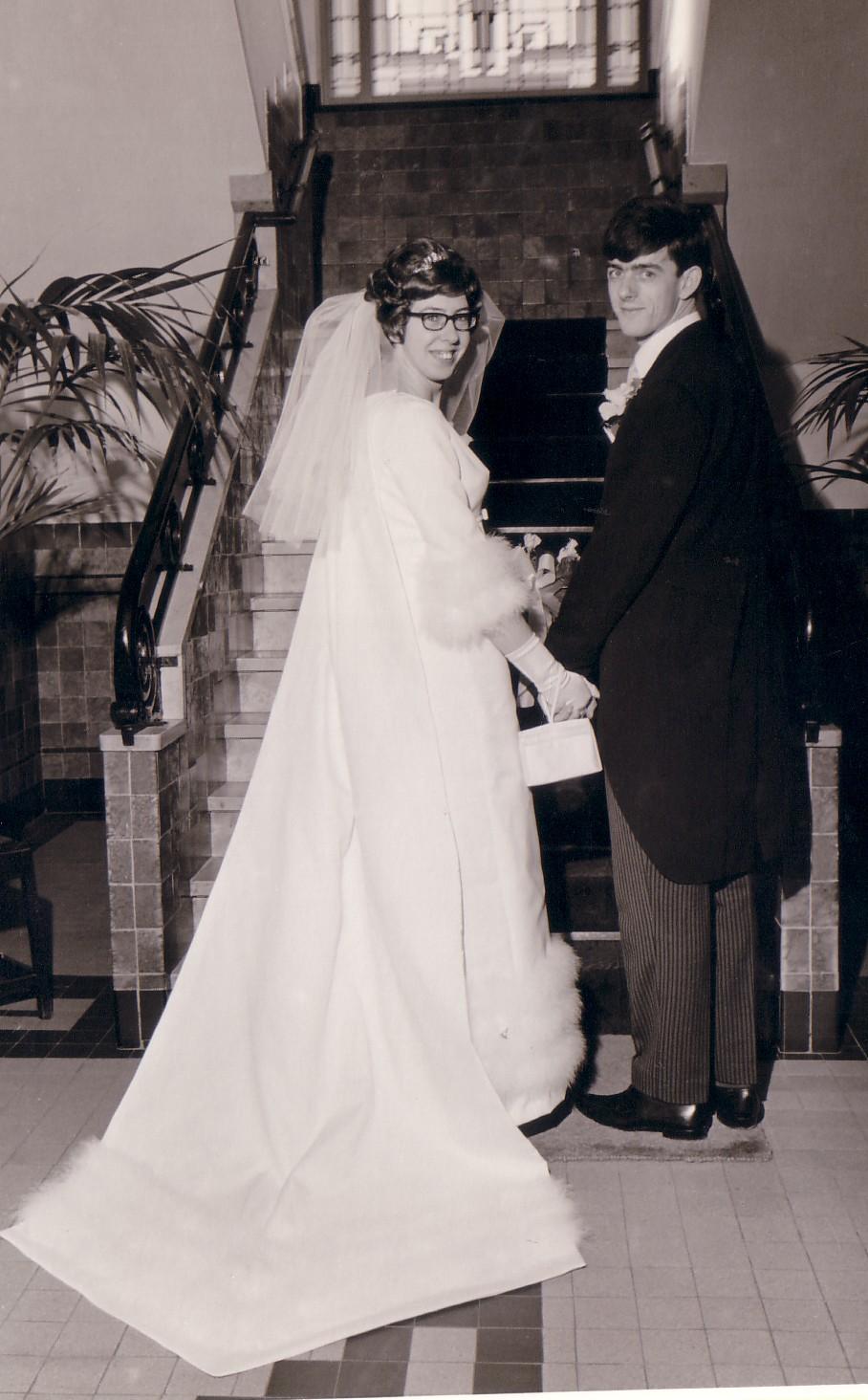 Huwelijk Maria P.van Eijmeren en Dirk Kok (1967)