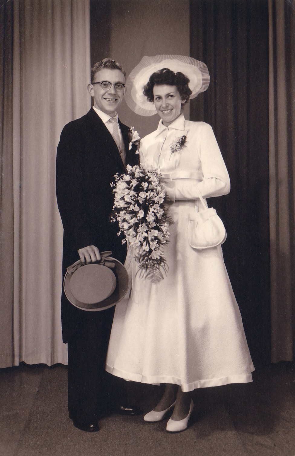 Huwelijk Neeltje C.van Eijmeren en Franciscus L. Kneppers (1958)