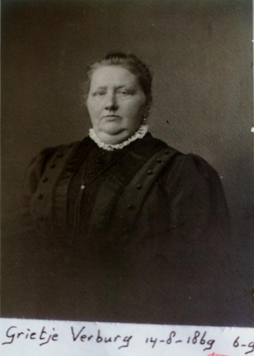 Grietje Verburg 1869-1956