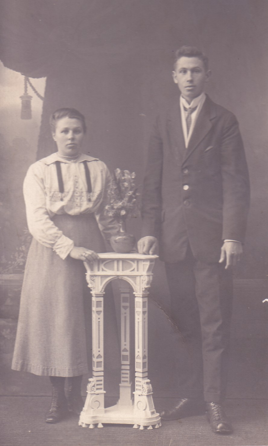 Maria P. van Eijmeren (1898-1945) en   Leendert Brinkman ((1897- ??)