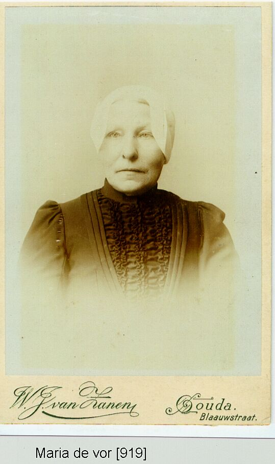 Maria de Vor 1843-1908