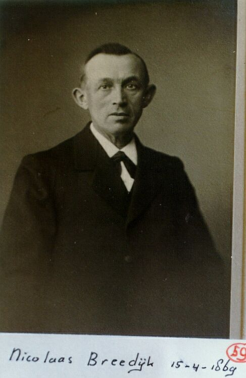 Nicolaas Breedijk 1869-1945
