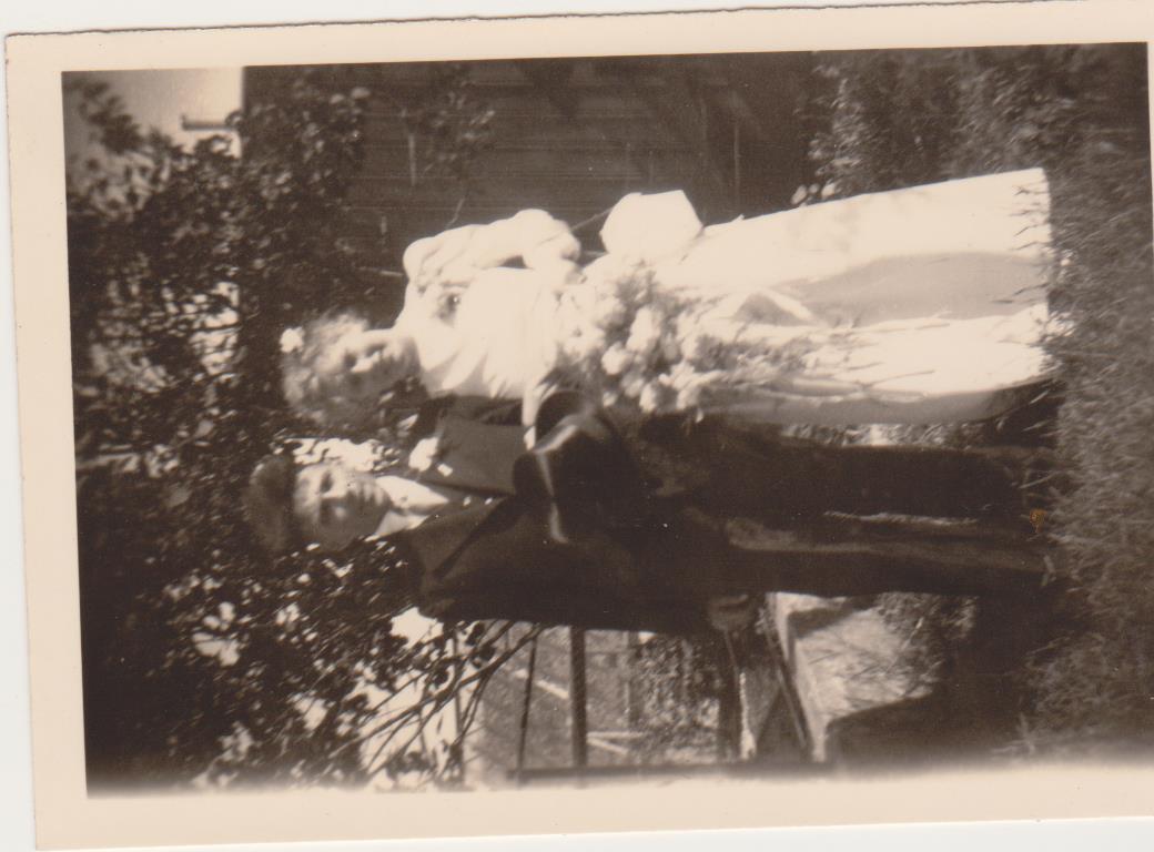 Huwelijk Ton Luijendijk-Janny Boekestijn 1944