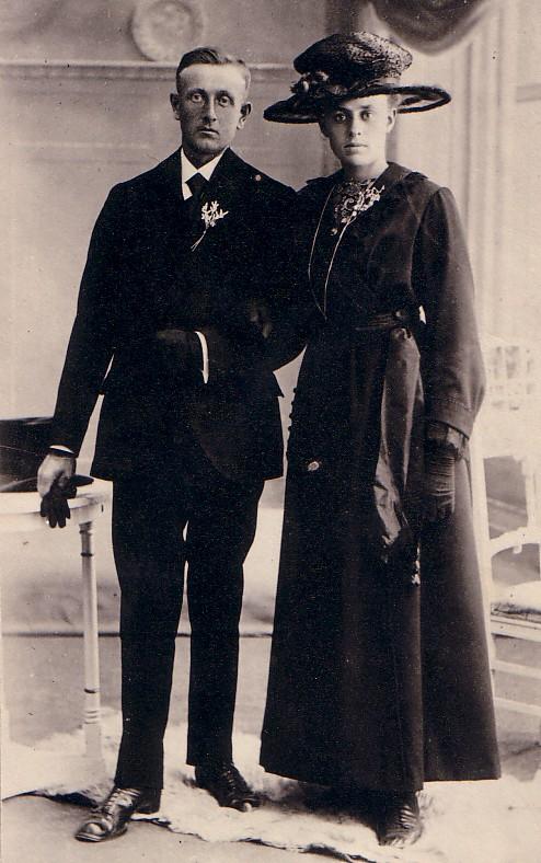 Huwelijk Willem Boekestijn-Ka de Vos 1921